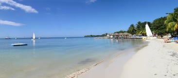 Beach holiday scenery stock photos