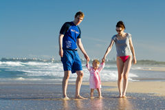 Beach holidays Royalty Free Stock Photos