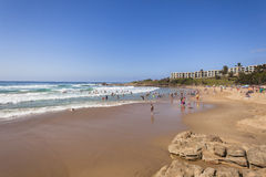 Beach Holidays Coastline Stock Photography