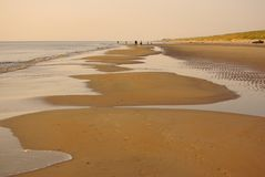 Beach, Holland Stock Image