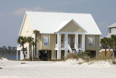 Beach Home Royalty Free Stock Photo