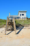 Beach home on Florida coast Royalty Free Stock Photos
