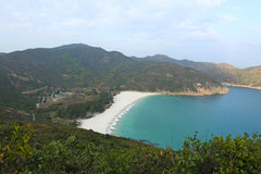 Beach in Hong Kong. It is taken in Sai Kung and is one of the best beach in Hong Kong Royalty Free Stock Photography