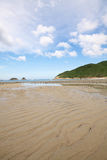 Beach in Hong Kong Royalty Free Stock Photography
