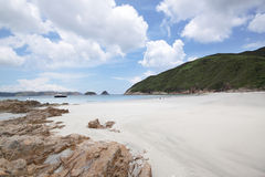 Beach in Hong Kong Royalty Free Stock Photos