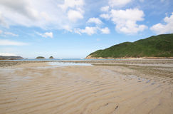 Beach in Hong Kong Royalty Free Stock Images