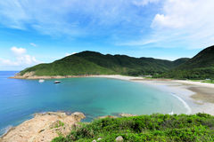 Beach in Hong Kong Stock Image