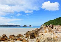 Beach in Hong Kong Stock Photography