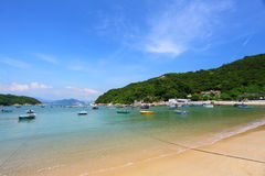 Beach in Hong Kong at day time Royalty Free Stock Photography