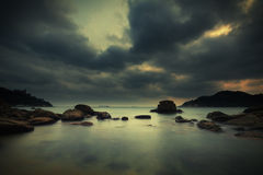 A beach in Hong Kong island Stock Images