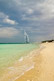 Beach hotel. Burj Al Arab, Dubai. Consistently voted the world's most luxurious hotel Stock Images