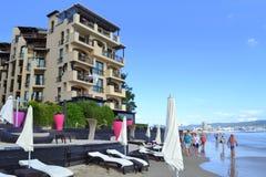 Beach hotel Royalty Free Stock Photo