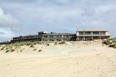 Beach hotel Stock Image