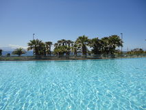 Hotel paradisiac resort Stock Photography