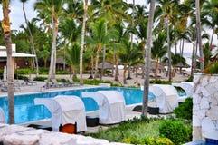 Beach Hotel Resort Swimming Pool Stock Image
