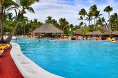 Beach Hotel Resort Swimming Pool stock photos