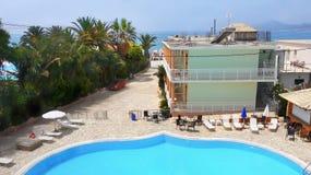 Beach Hotel  Swimming Pool Royalty Free Stock Photo