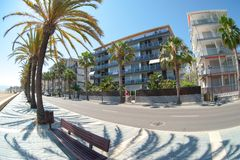 Beach hotels Royalty Free Stock Photo