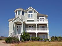 Beach House. In the Outerbanks of North Carolina Royalty Free Stock Photography