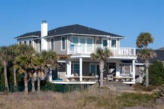 Beach House Royalty Free Stock Image