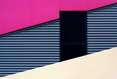 Beach House. Detail of a modern Australian beach house, with contemporary use of corrugated steel stock images