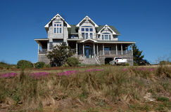 Beach House. In the Outer Banks of North Carolina Royalty Free Stock Photography
