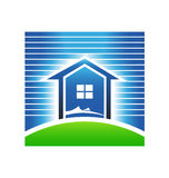 House flood prevention logo Stock Photos