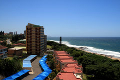 Beach house. Beautiful beach houses in Durban, south africa Royalty Free Stock Image