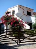 Beach House. Near Cala Santa Galdana Stock Images