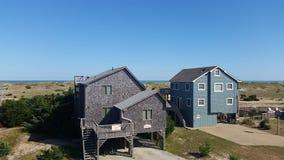 Beach house stock photos