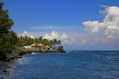 Beach House at Bali Indonesia Royalty Free Stock Photography