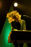 Beach House (band) performs at Poble Espanyol Stock Images
