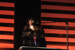 Beach House band performs at San Miguel Primavera Sound Festival Royalty Free Stock Images
