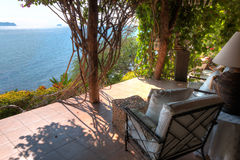 Beach House in Batangas Philippines. Royalty Free Stock Photography