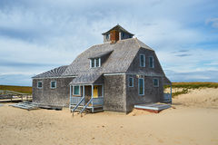 Beach house at Cape Cod Stock Photos