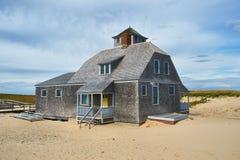 Beach house at Cape Cod Stock Photos