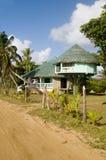Beach house corn island nicaragua Royalty Free Stock Photos