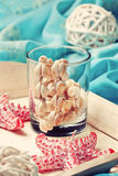 Beach house decor, setting summer vacation (Toning) Royalty Free Stock Image