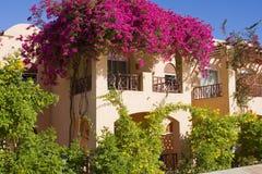Beach house in Egypt. Stock Photos