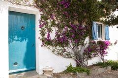 Beach house entrance Stock Photo