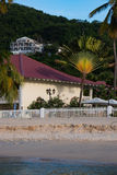 Beach house, Grenada royalty free stock photography