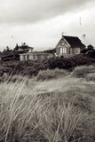 Beach house holiday home Royalty Free Stock Images