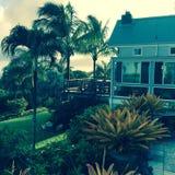 Beach house, Maui, Hawaii Royalty Free Stock Image