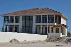 Beach house. A newly built beach house in America Royalty Free Stock Photo