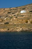 Beach House, Paros Royalty Free Stock Photos