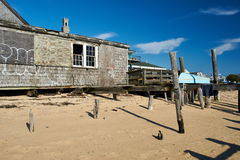 Beach house at Provincetown, Cape Cod, Massachusetts Stock Images