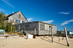 Beach house at Provincetown, Cape Cod, Massachusetts Stock Image