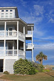 Beach house, Rodanthe Stock Photo