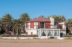 Beach house in Swakopmund Royalty Free Stock Photo