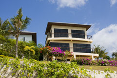 Beach house in Thailand Royalty Free Stock Images